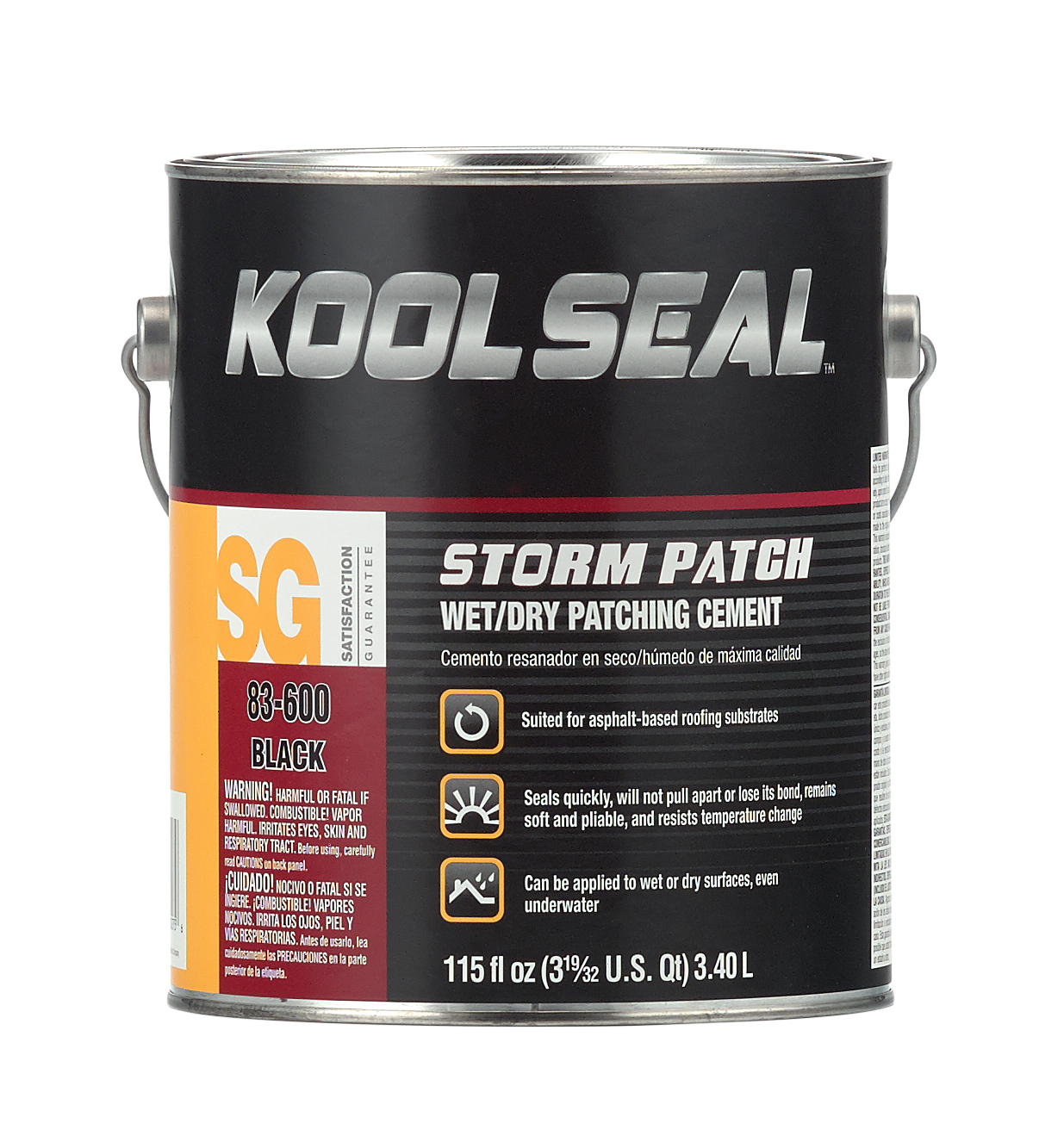 Wet Dry Patching Black Patching Cement Koolseal