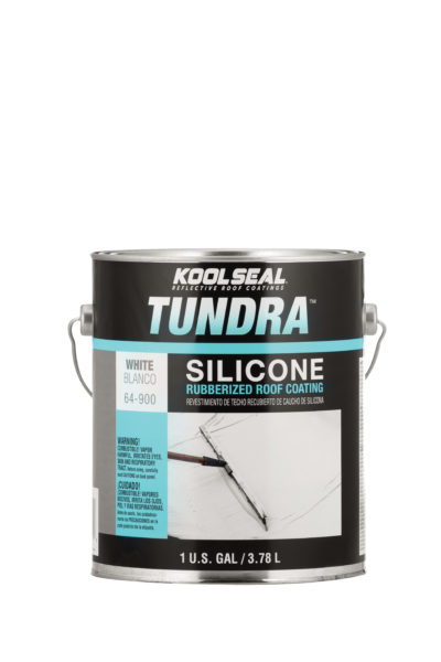 Tundra Silicone Rubberized White Roof Coating Koolseal
