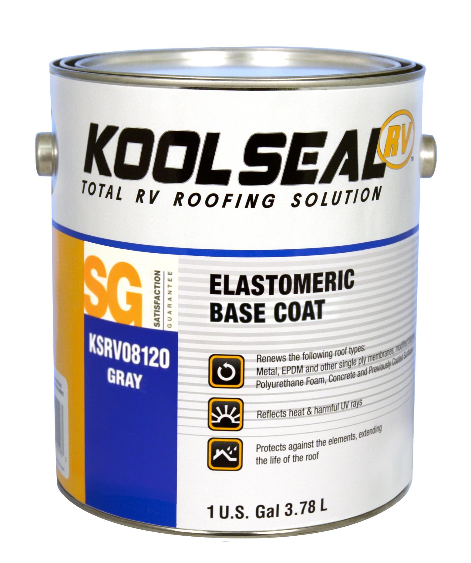 Elastomeric Rv Base Coat Koolseal