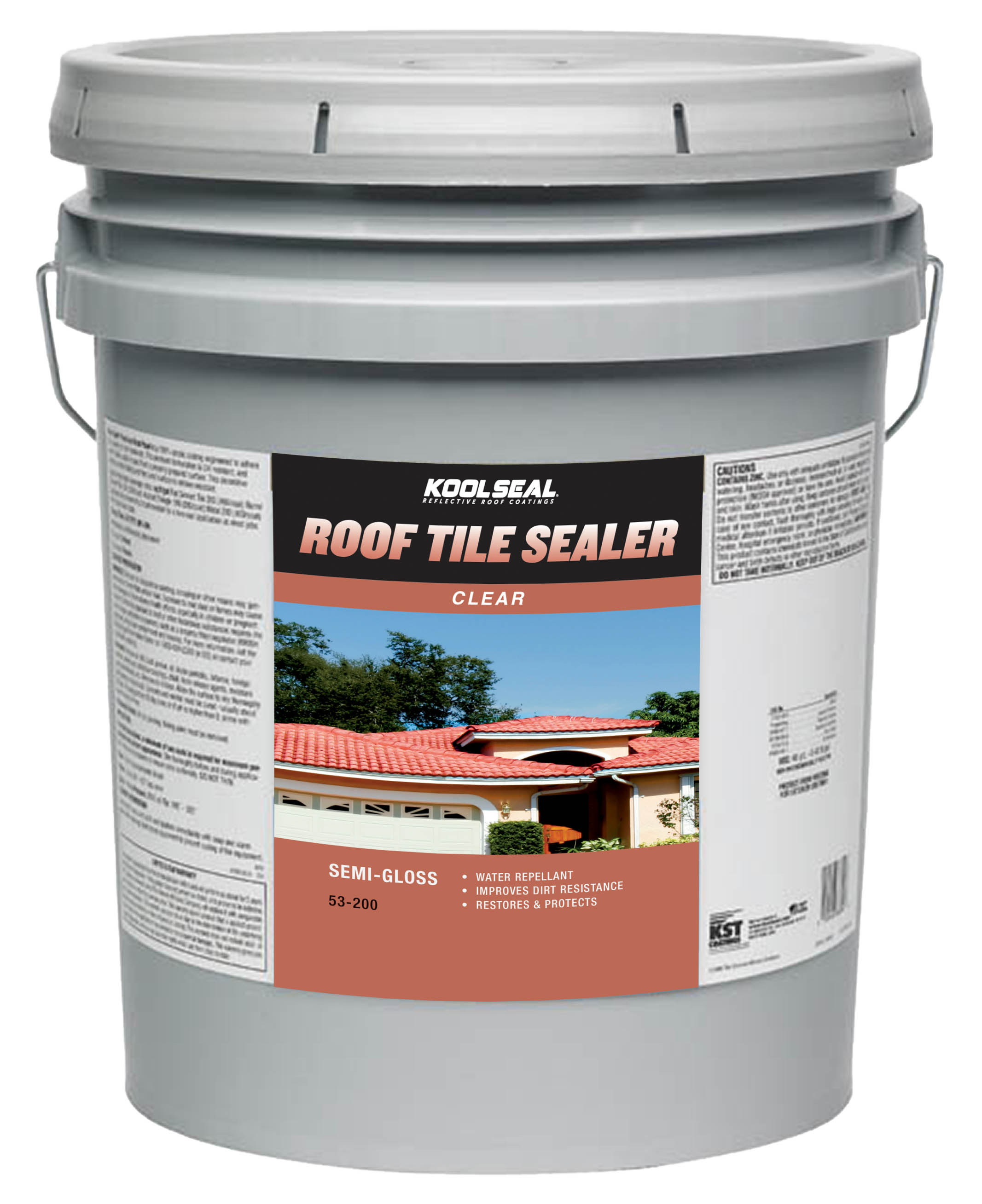 how to clean roof to paint