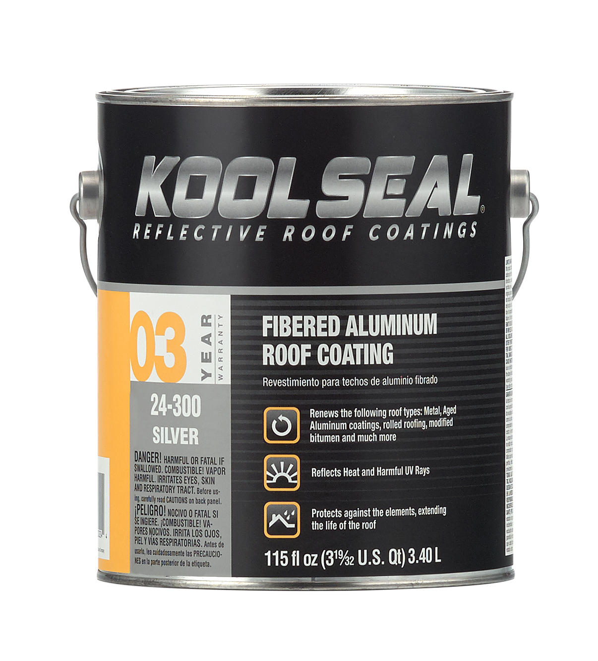 Fibered Aluminum Roof Coating Koolseal